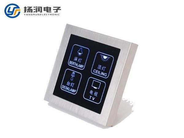 触摸式智能家居段码液晶显示屏